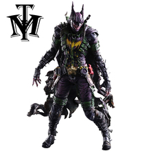 Movie DC comics Batman Rogues Gallery Joker Action Figure Playarts Kai figurine kids Toy Collection Model Play arts brinquedos(China)