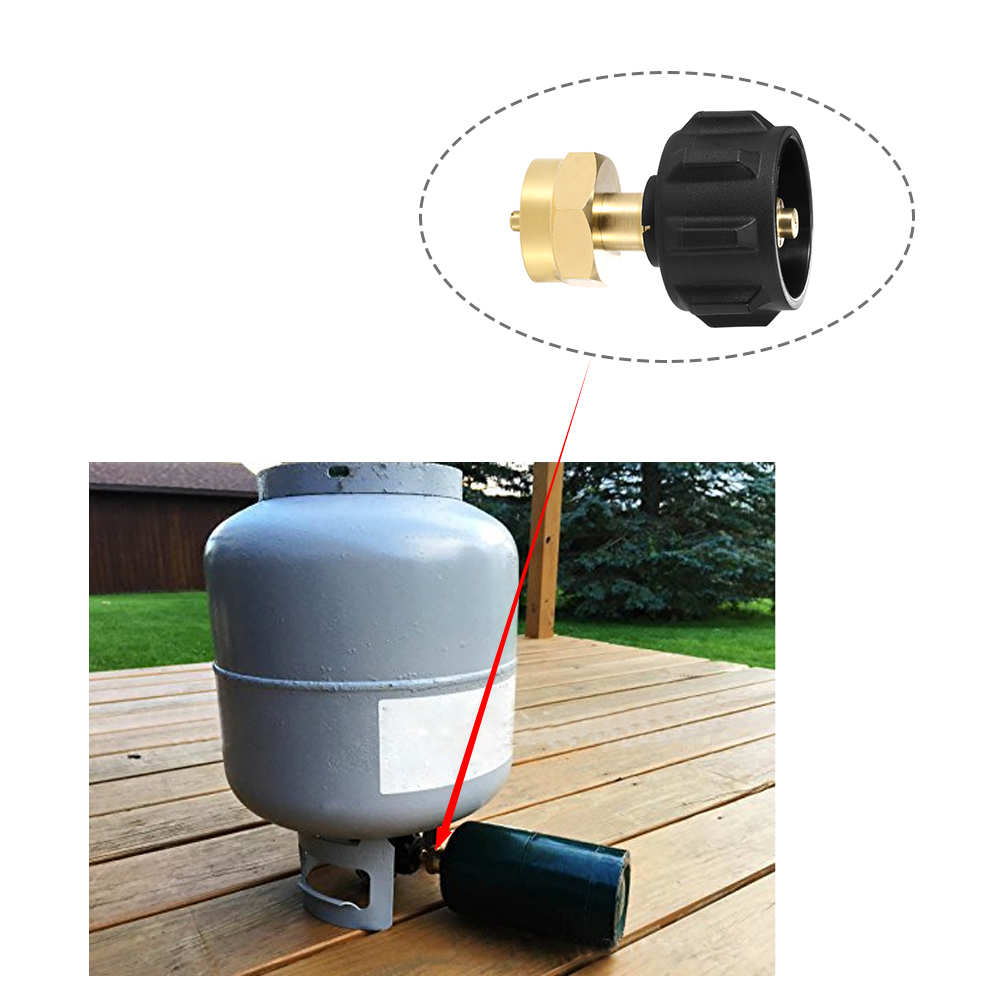 Disposable propane tank gauge see how full your 1lb propane or Mapp tank is!