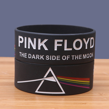 2017 New PINK FLOYD Silicone Bracelets for Music Fans Rubber Punk Bangles Rock Band Silicona Pulseira