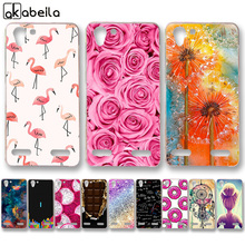 AKABEILA Soft TPU Hard PC Phone Cases for Lenovo Vibe K5 K5 Plus Lemon 3 A6020 Covers Bags Rose Flower Butterfly Skin Shell(China)