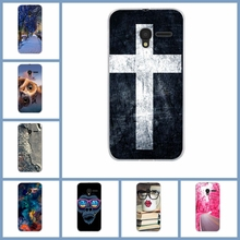 "For Alcatel One Touch Pixi 3 4.5"" 5017 5017D 5017X 5019D Soft Tpu Silicon Cellphone Mask Case Protective Cover Housing Skin(China)"