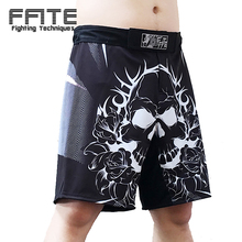 FFITE mma shorts men boxing trunks muay thai boxe muay thai kickboxing shorts sanda pants fight boxing cheap short sports(China)