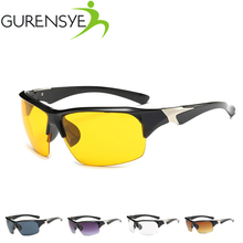 Buy Gurensye Night Vision Cycling Glasses 2017 Driving Cycling Sports MTB Bike Sun Glasses Eyewear Goggle Sunglasses Oculos Ciclismo for $1.58 in AliExpress store