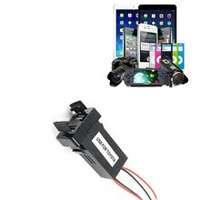 2017 Hot Car Usb Socke Car 5V 2.1A Dual USB Port Dashboard Mount Phone GPS Charger For phone iPod MINI MP4 MP3 Adapter New Auto