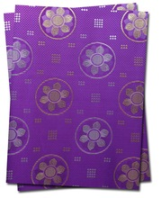 Free shipping African head tie,Head Gear,Sego Gele&Ipele,Head Tie & Wrapper, 2pcs/set ,HT086 PURPLE