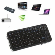 iPazzPort Wireless Keyboard 3D Gyroscope Fly Air Mouse Mini 2.4G Wireless Handheld Qwerty Keyboards Perfect for Andriod Computer
