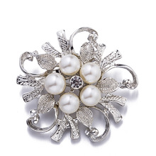 Crystal Brooch Pins For Women Top Quality Flower Broches Jewelry Fashion Wedding Party Invitation Bijoux Broche Femme