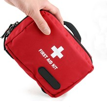 Outdoor Tactical Emergency Medical First Aid Pouch Bags Survival Pack Rescue Kit Empty Bag for outdoor Safety and Survival(China)
