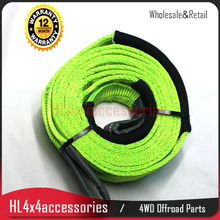 offroad 12 ton tree trunk protector winch tow strap snatch strap 3M double layer tree trunk strap 4x4 4WD Australia Standard(China)