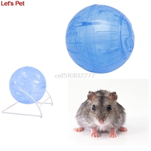 1pc pet Toys for small animals 12cm/14.5cm Plastic Colorful Run-About Exercise Ball Clear for Hamster Mouse Rate Toy #H0VH#