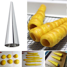 Good New Fashion Top Sale Horn Bread Baking Mold Stainless Steel Pastry Mold Cones Mold Baking Tools