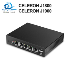 Mini PC Quad Core Tablet Fanless 4 LAN Router Firewall Celeron J1800 J1900 Windows 10/8/7 HTPC HD Graphics TV Box VGA 4 RJ45