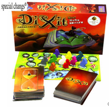 Dixit Card game 1+2 version wood rabbit board games English instructions send by email