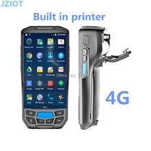 5 inch IPS Screen 4G Mobile Data Terminal Android 5.1 Based handheld android pda barcode scanner(China)