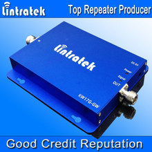 Lintratek 2G 3G Signal Repeater Dual Band Mobile Phone Signal Booster GSM 900Mhz 3G 2100MHz Amplifier Extender Cell Boosters F27