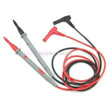 C18 hot newest Universal Digital Multimeter Multi Meter Test Lead Probe Wire Pen Cable 1 Pair