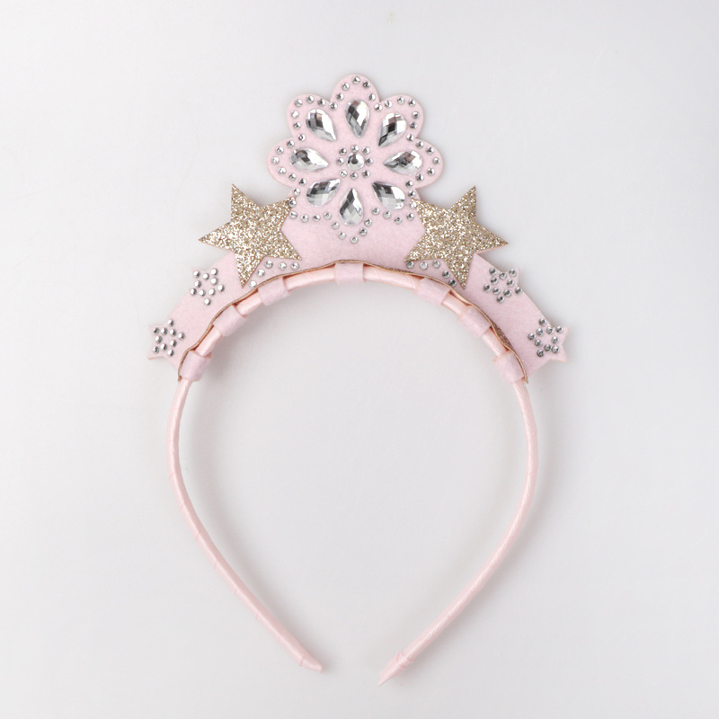 Lovely Kids Girls/' Hair Hoops Cute Plastic Hair Bands Headbands Hair Accessories