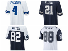 Men's Jason Witten Dez Bryant Ezekiel Elliott Sean Lee Dak Prescott jerseys(China)