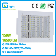 NGT LED light 150watt gas station modular fixture retrofit 600W HPS mercury lamp 110V 120V 277V led outdoor lighting IP65
