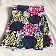 DF!New product ankara printing wax fabric/new model african super java wax printed fabric 100% cotton 6 yards ! P121638(China)