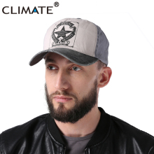 CLIMATE Contrast Color Pentagram Star Washed Cool Baseball Cap Adult Men Women Adjustable Authentic Casual Trucker Hat Caps