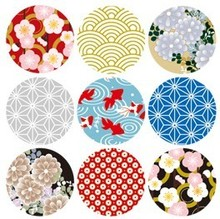 90pcs Japan Style Point Stickers Water Proof Decoration Sticker Index stickers scrapbooking