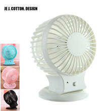 2017 USB Fan Air Cooler Air Conditioning  for Home Office School Mini USB Rechargeable Fans with Charging Li Battery Ventilador