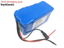 29.4V 6AH 7S3P lithium battery moped 24v electric bicycle/electric 29.4v lithium-ion battery pack