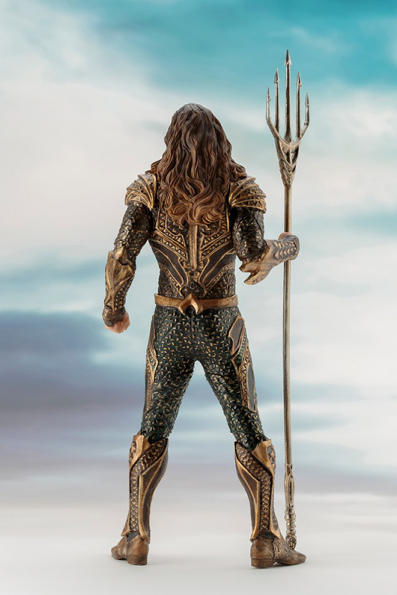 DC Justice League The Flash Cyborg Wonder Woman Batman Superman Statue ARTFX Action Figures Collection Model Toy Doll (10)