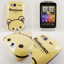 Cartoon Bear Monkey Rabbit Hard Phone Back Case Cover for HTC Wildfire S A510e Cell Phone Cases