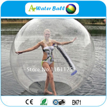 8pcs+2pump Factory price inflatable water walking ball, water zorb ball, inflatable water balloon
