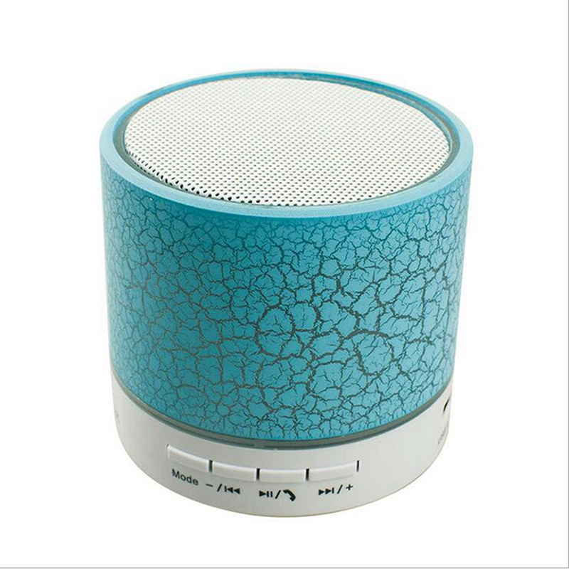 LED MINI Bluetooth Speaker A9 TF USB FM Wireless Music Sound Box Subwoofer Loudspeaker For iPhone Samsung smartphone PC with Mic (1)
