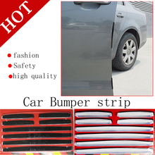 Free Shipping Door Edge Guards Trim Molding Protection Strip Scratch Protector Set 8pcs/set Hot Sale fn(China)