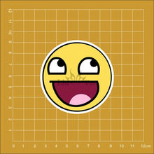 LOL laugh out loud Emoticons Notebook refrigerator skateboard trolley case backpack Tables book PVC waterproof Car sticker(China)