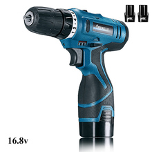 12V 16.8V LONGYUN Screwdriver battery Cordless screwdriver Power tools Screw gun Electric Screwdriver drill Battery*2