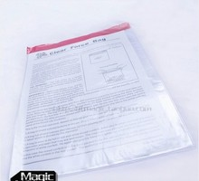 Free shipping 2pcs amazing bag clear force bag magic tricks magic props