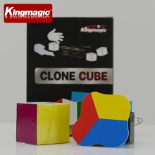 Flattened Cube Funny Magic Props Promotional Gfit Toy Magic Kids Toys Magic Tricks(China)