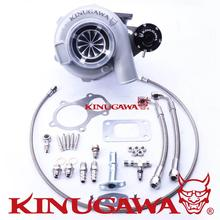"Kinugawa Ball Bearing Turbocharger 4"" GTX3076R 60mm w/ .73 T3 4 Bolt External #301-03001-006"
