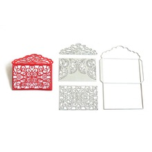 10.6x15.5cm Frame Cutting Dies Scrapbooking Metal Cutting Pressing Dies For DIY Decorations Embossing Art(China)