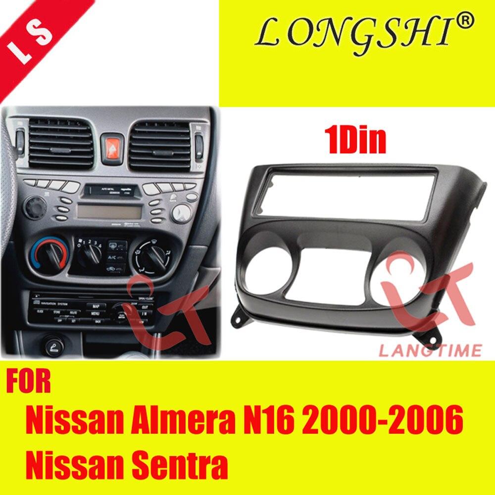 Sentra 2000-2006 CARAV 11-535 1DIN Car Radio Dash Kit panel for Almera