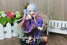 Free Shipping No Game No Life 1/8 scale Siro sexy Girl Shiro cute dolls Garage Kit Brinquedos Anime Action Figure Toys