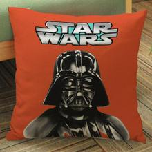 Manufacturers Supply Modern Minimalist Star Wars Series Short Soft Plush Printed Backrest Pillow Cushion For Boys Gift(China)