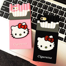 Hot Sale Popular Fashion Smoking Kills Cigarette 3D Design Silicon Phone Cover Case For iPhone 6 6s 6 Plus 6s plus 5 5S SE