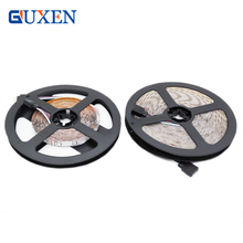GUXEN Led Strip Light 5M 300Leds DC12V SMD2835 Chip Diode Tape Waterproof/No-Waterproof RGB & Single color free shipping(China)