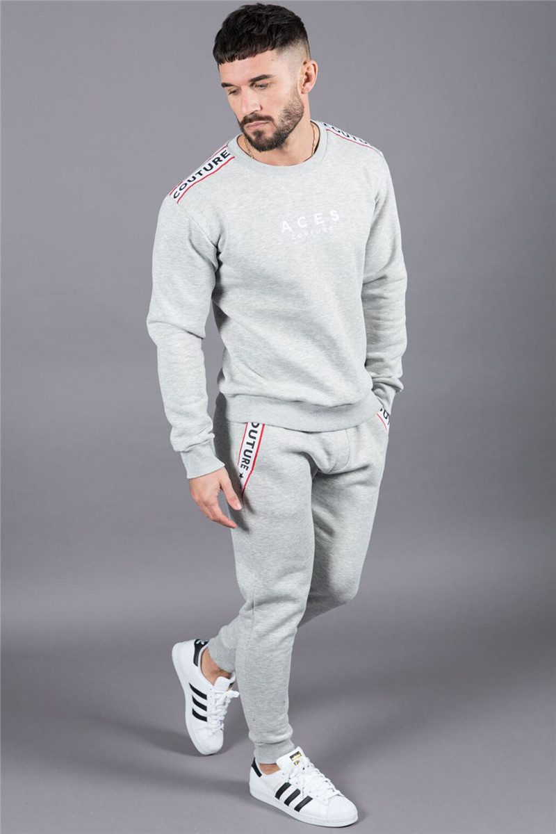 New boutique Brand Gyms Fitness Mens Joggers Casual Men Sweatpants Joggers Trousers Sporting Clothing Bodybuilding Pants men 8