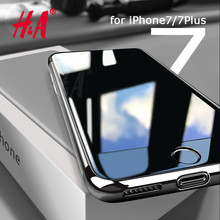 H&A Slim Phone Case for Apple iPhone 7 7 Plus Luxury TPU Silicone Soft Back Cover Case for iPhone 6 7 5 5s SE 6s Plus Cases(China)