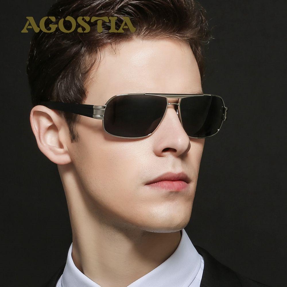 Agostia Men Polarized Sunglasses Military Traveler Driving Outdoor Cool Anti Glare Visor Sun Glasses Eyewear For Men<br><br>Aliexpress