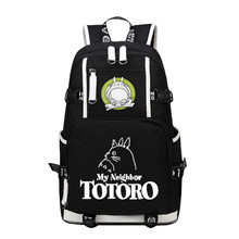 2017 My Neighbor Tototo Laptop Backpack Bags Large Capacity Printing Backpack Anime Cartoon Unisex School Bags Travel Bag(China)