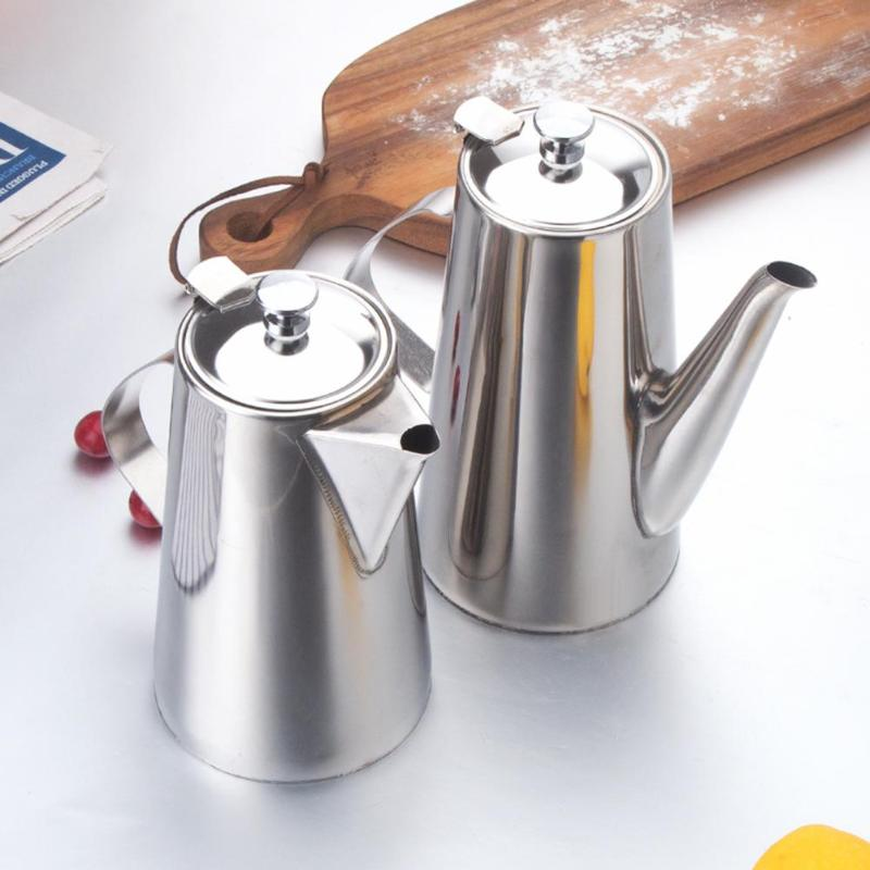 WinnerEco 1.5L Large Capacity Stainless Steel Water Pitcher Tea Pot Kettle