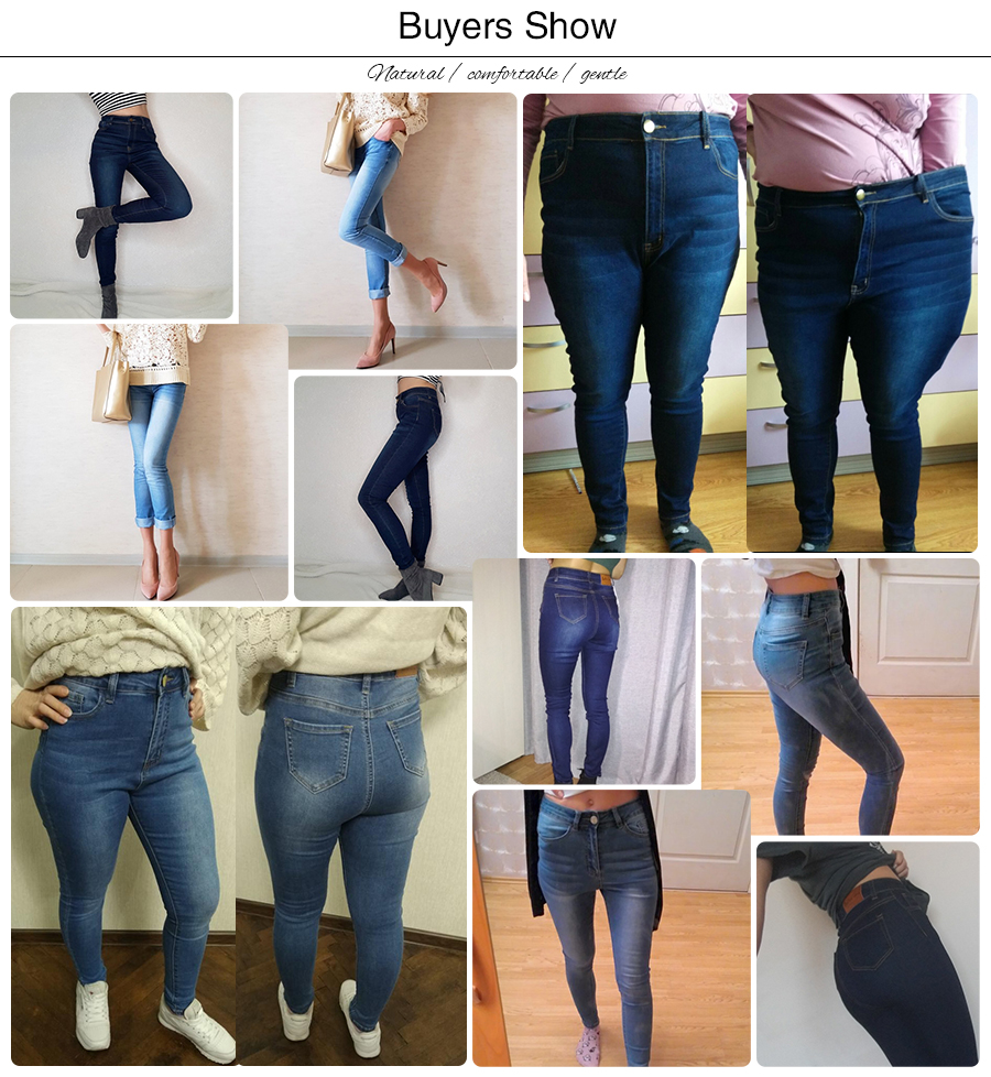 luckinyoyo jean jeans for women with high waist pants for women plus up large size skinny jeans woman 5xl denim modis streetwear 1